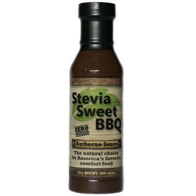 Stevia Sweet BBQ Barbecue Sauce 15 ounce bottle