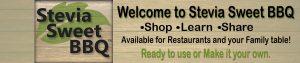 Stevia Sweet BBQ Home Page Header